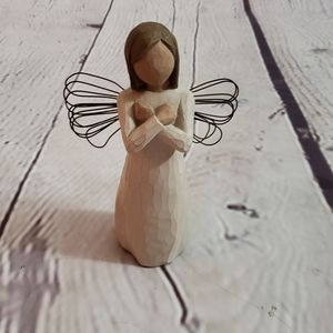 "Willow Tree Angel ""Sign for Love"" 2003"